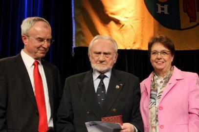 Klaus Dietrich Rosenfeld – unser Kommodore von der Stadt Kaarst geehrt